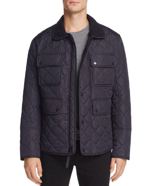 Marc New York - Black Canal Quilted Jacket for Men - Lyst