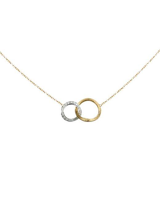 Marco Bicego - Metallic Diamond Jaipur Link Pendant Necklace - Lyst