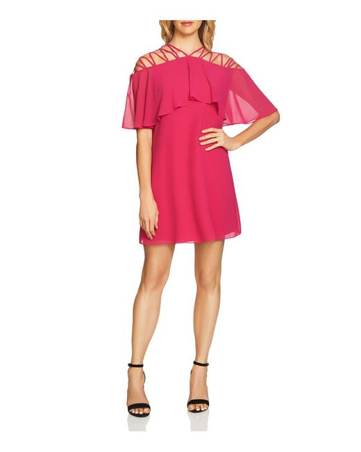 Cece by Cynthia Steffe - Pink Taylor Lattice Dress - Lyst