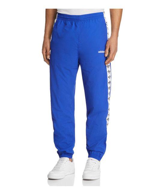 Adidas Originals - Blue Tnt Wind Track Pants for Men - Lyst