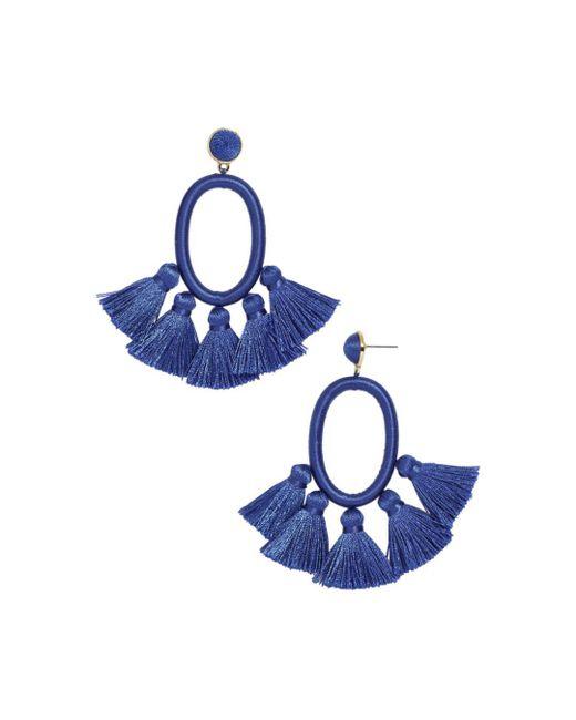 BaubleBar - Blue Corsica Drop Earrings - Lyst