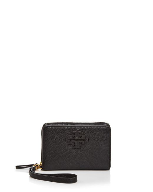 Tory Burch - Multicolor Mcgraw Leather Bifold Wallet - Lyst