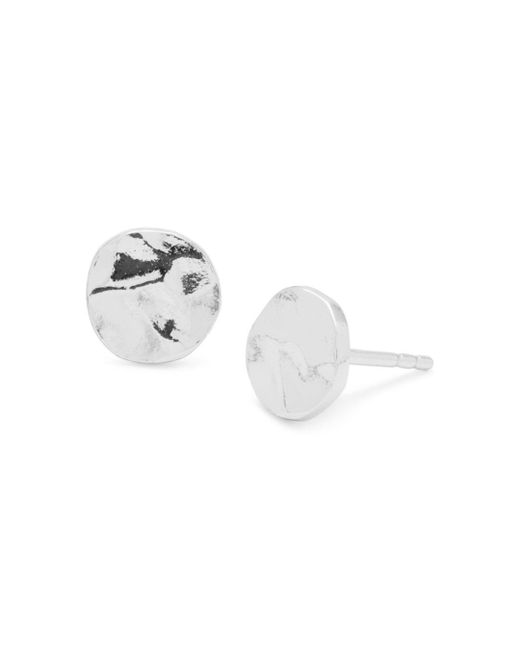 Gorjana - White Chloe Stud Earrings - Lyst