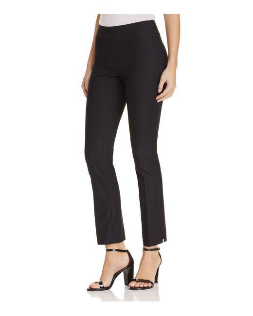 NIC+ZOE   Black Perfect Slim Ankle Pants   Lyst