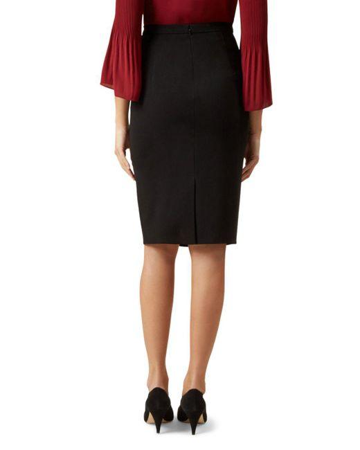 623848bda ... Hobbs - Black Mina Pencil Skirt - Lyst ...