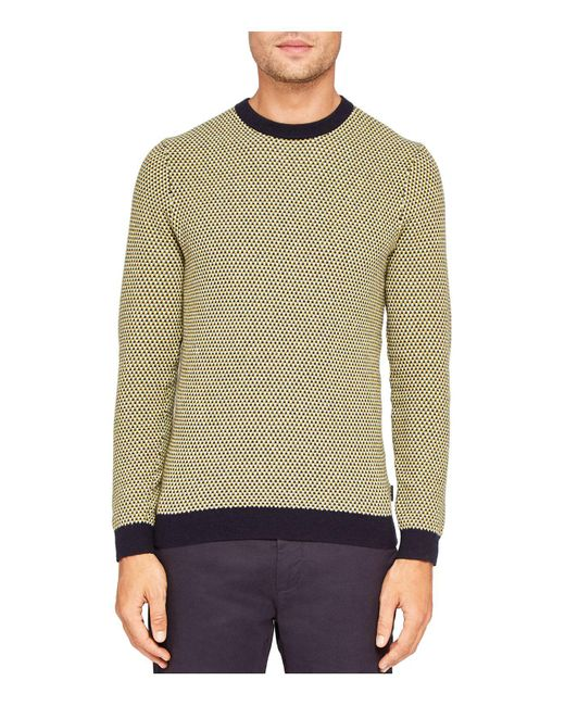 Ted Baker | Multicolor Coftini Triple Stitch Sweater for Men | Lyst