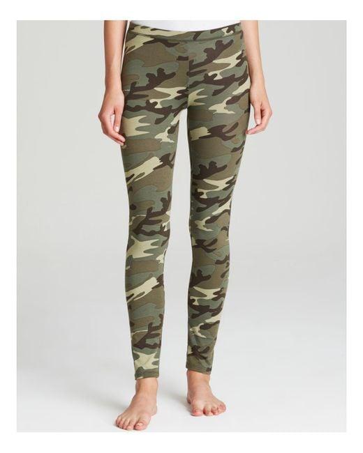 Alternative Apparel - Green Leggings - True Camo Printed - Lyst