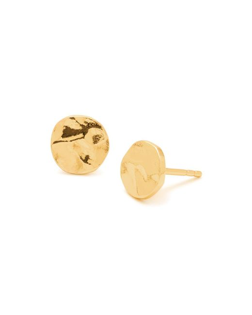 Gorjana | Metallic Chloe Stud Earrings | Lyst