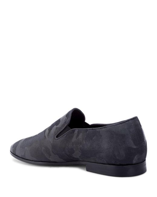 169a87a3c6202 ... Robert Graham - Black Men's Fry Camouflage Slipper Loafers for Men -  Lyst