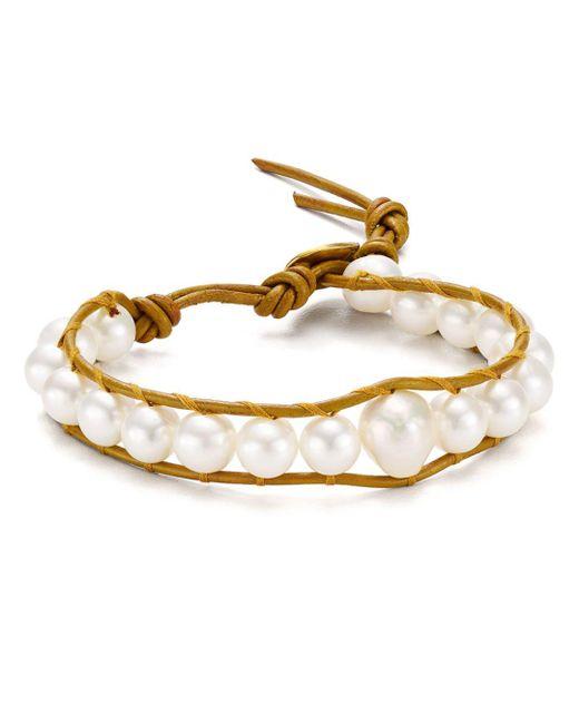 Chan Luu - Multicolor Cultured Freshwater Pearl Bracelet - Lyst