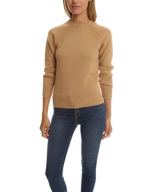 A.P.C.   Natural Edimbourg Sweater   Lyst