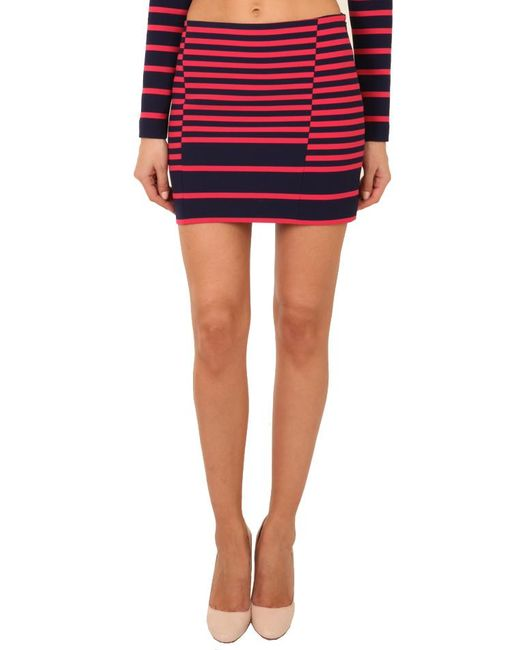Thakoon - Blue Addition Striped Mini Skirt - Lyst