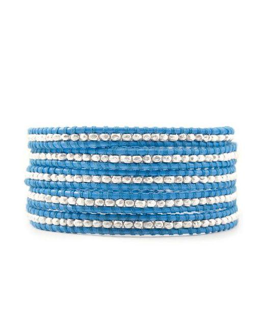 Chan Luu - Sky Blue Wrap Bracelet - Lyst