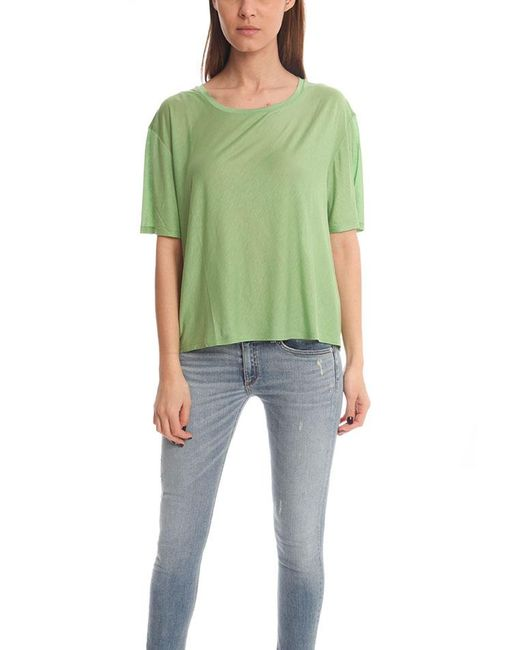 Acne - Green Wonder Ten T-shirt - Lyst