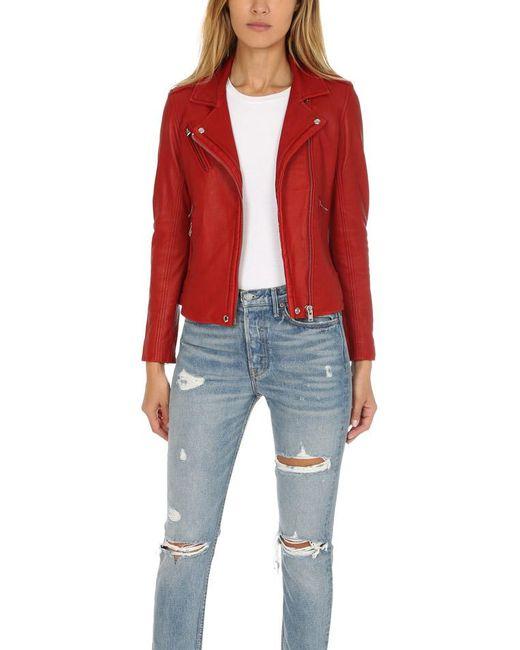 IRO - Red Han Jacket - Lyst