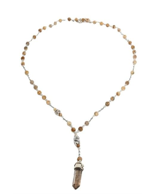Chan Luu - Natural Picture Stones Necklace With Pendant - Lyst