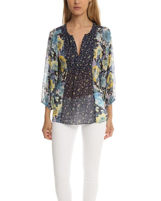89305bba333ed Joie - Blue Thistle Top - Lyst ...