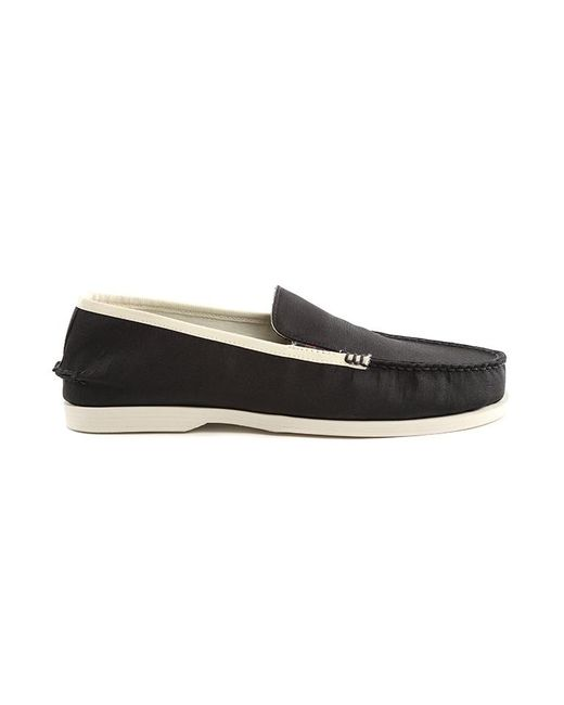 Koifish Metallic Boat Shoe Black