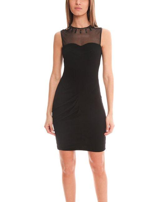 Yigal Azrouël | Black Crepe Jersey Dress | Lyst