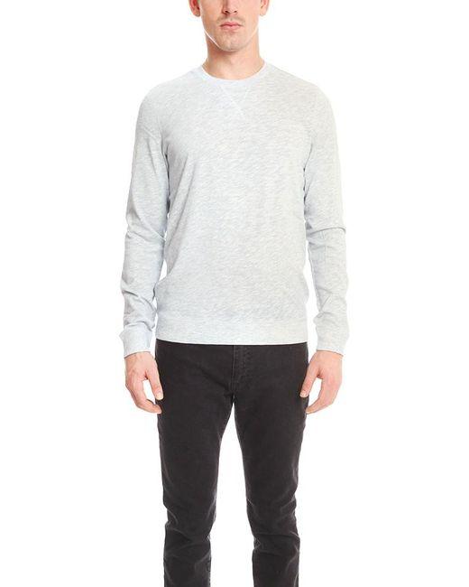 Vince | Blue Crew Pullover for Men | Lyst