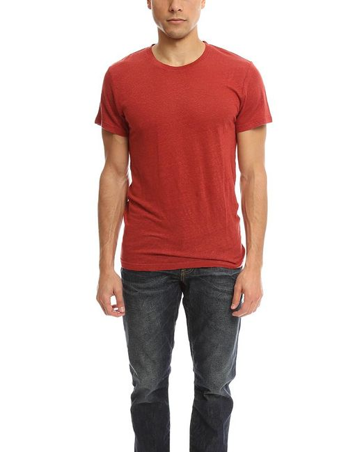 IRO - Red Jaoui T-shirt for Men - Lyst