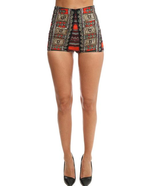 Camilla | Multicolor High Waisted Tailored Shorts | Lyst