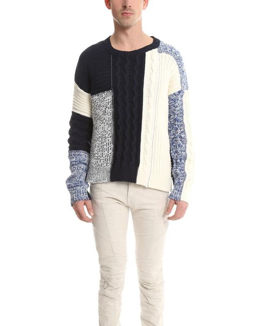 Balmain - Multicolor Knit Sweater Multi for Men - Lyst