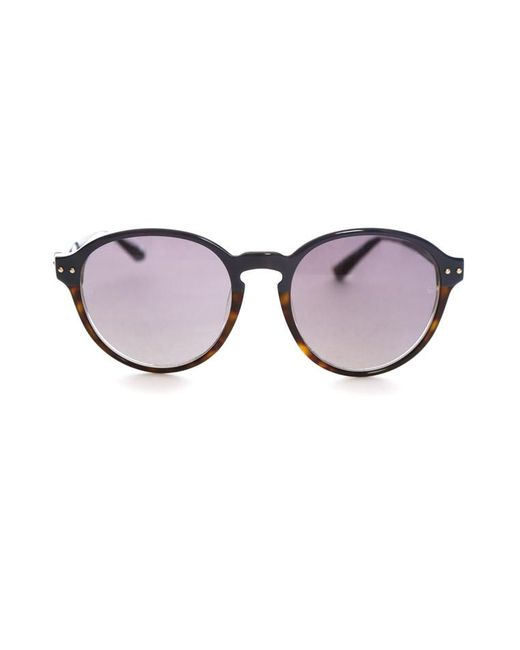 Linda Farrow Blue Linda Farrow Luxe 2-tone Round Sunglasses