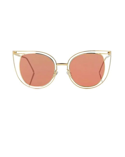 Thierry Lasry | Metallic Eventually - Rose Gold Mirror | Lyst