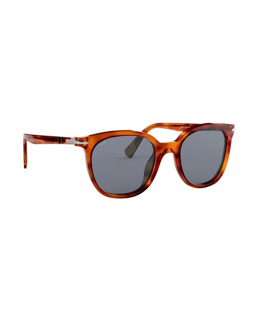 51882573a6 Persol Sunglasses Po3216s 96 56 51mm in Brown for Men - Lyst