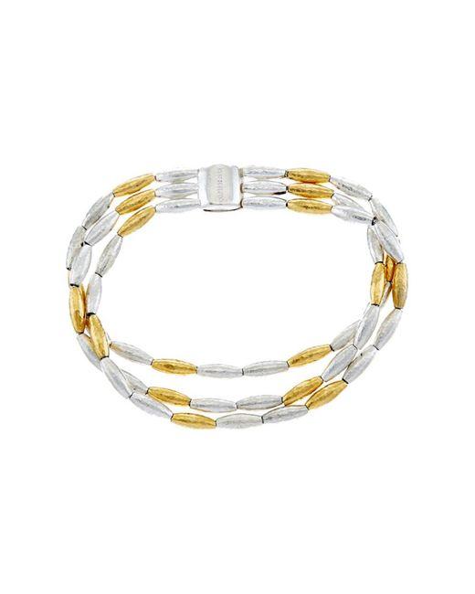 Gurhan - Metallic Wheat Silver Bracelet - Lyst