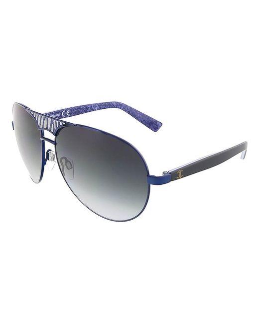 Just Cavalli | Jc 510 92w Navy Blue Teardrop Aviator Sunglasses | Lyst