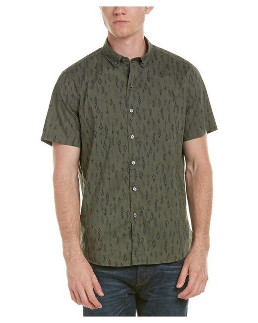 Michael Bastian | Green Gray Label Woven Shirt for Men | Lyst