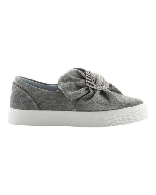 Chiara Ferragni   Gray Women's Oversized Bow Slip-on Sneaker   Lyst