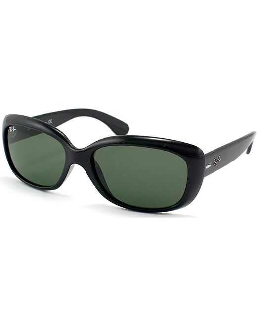 Ray-Ban - Black Jackie Ohh Rectangle Plastic Sunglasses - Lyst