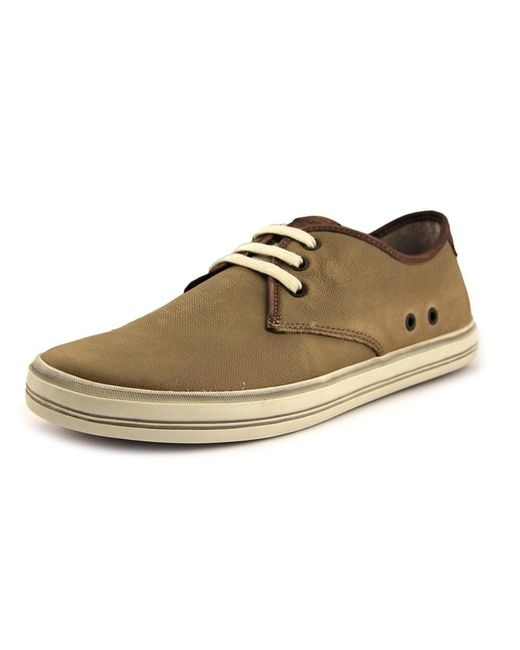 Sebago   Natural Glover Leather Fashion Sneakers for Men   Lyst