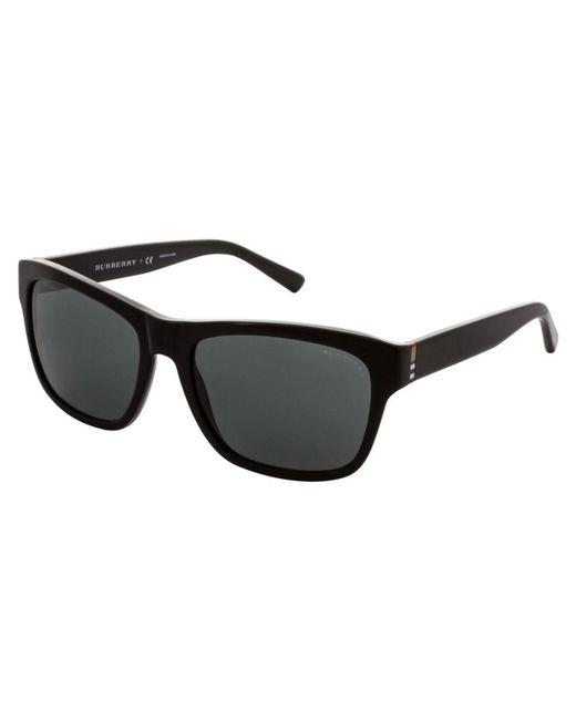 8c2f400708ec Burberry - Black Men s Be4194 300187 Sunglasses for Men - Lyst ...