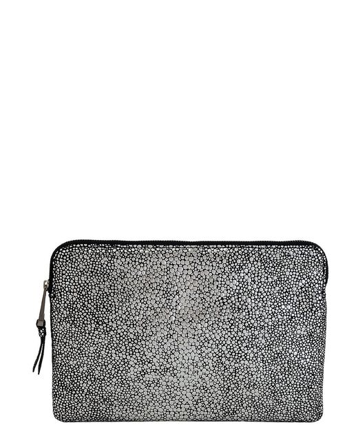 Inge Christopher - Metallic Leather Pouch - Lyst