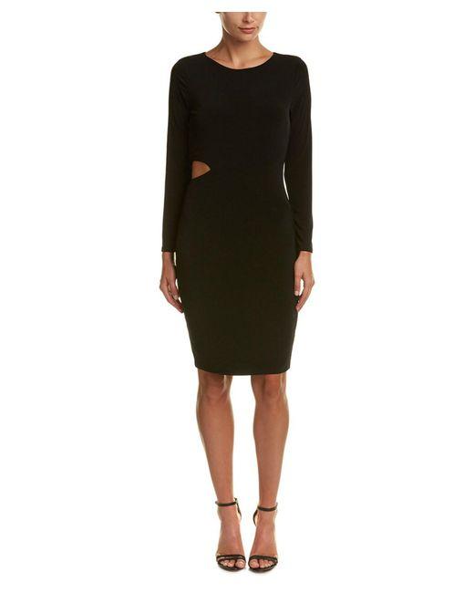 Velvet - Black By Graham & Spencer Cutout Sheath Dress - Lyst