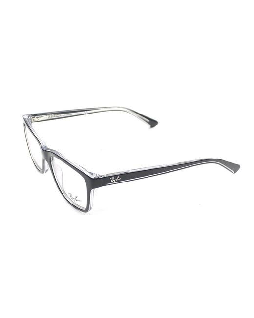 Ray-Ban - Black Junior Rectangle Plastic Eyeglasses - Lyst