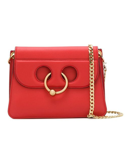 J.W. Anderson - Women's Red Leather Shoulder Bag - Lyst