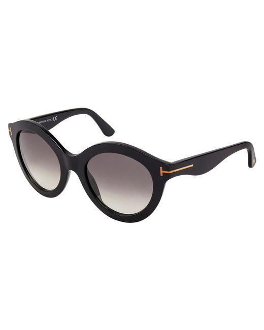 Tom Ford - Black Women's Bardot 55mm Sunglasses - Lyst