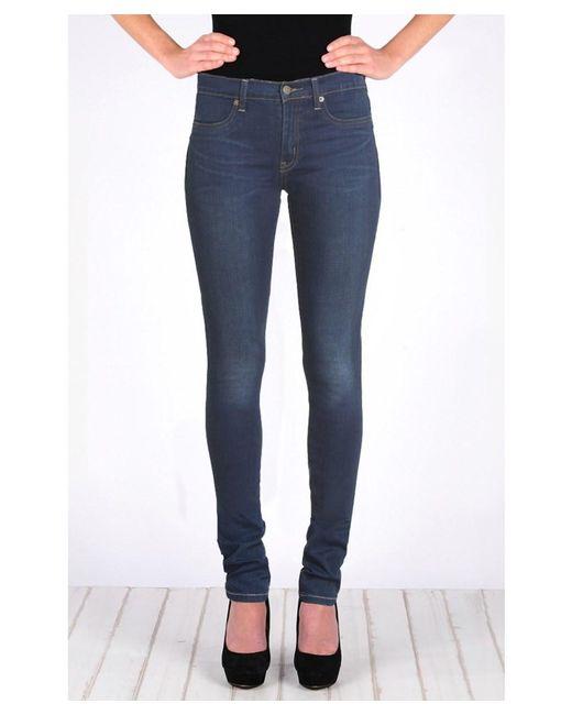 Henry & Belle - Blue High Waisted Super Skinny Jean - Lyst