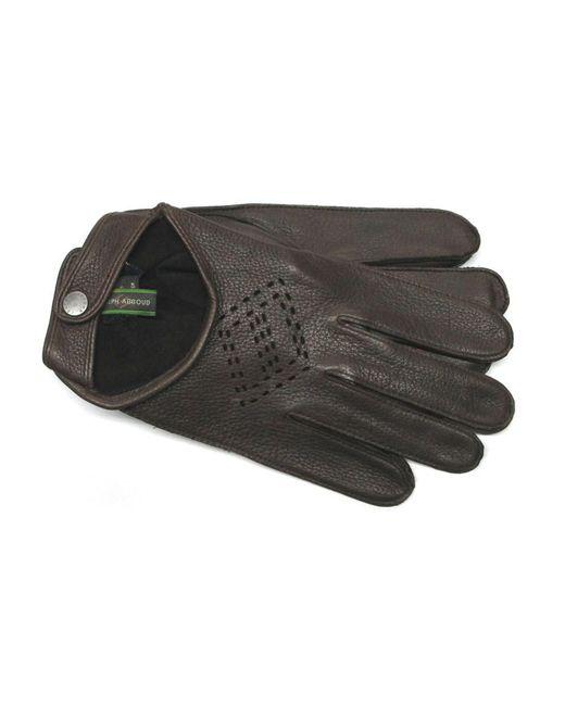 Joseph Abboud - Multicolor Deerskin Driving Gloves for Men - Lyst