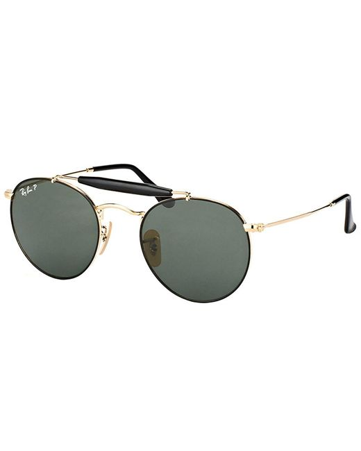 Ray-Ban - Metallic Rb 3747 900058 50mm Gold Round Sunglasses - Lyst