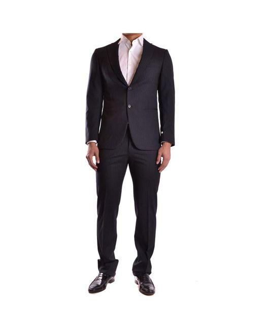 Burberry - Men's Mcbi056048o Black Wool Suit for Men - Lyst