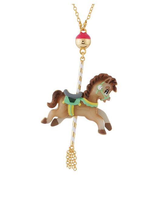 Les Nereides - Gray Joyland Horse's Carousel Necklace - Lyst