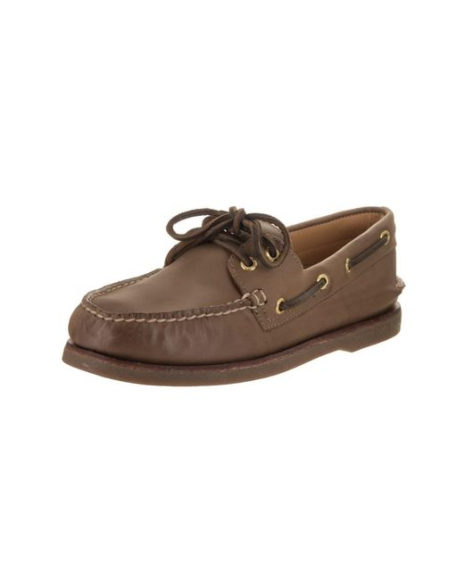 Sperry Top-Sider - Brown Top-sider Men's Gold Authentic Original Boat Shoe for Men - Lyst