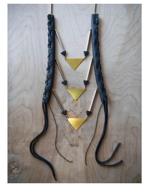 Love Leather | Multicolor Party Sliced Necklace | Lyst