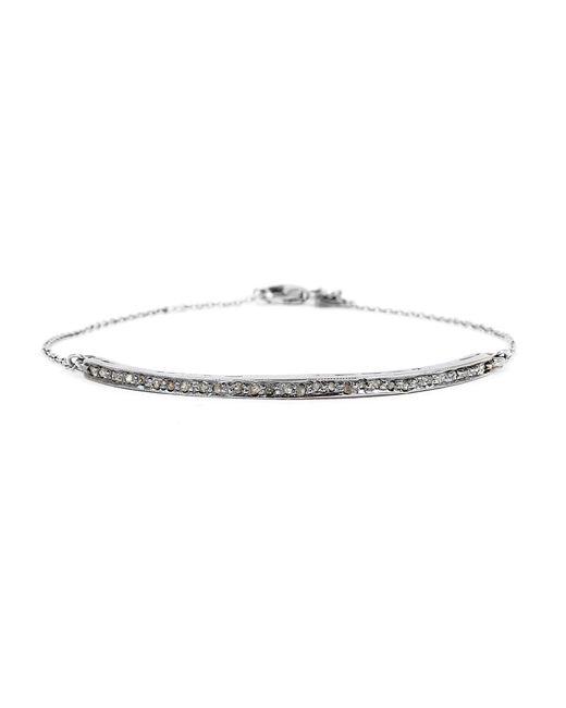 Adornia | Metallic Champagne Diamond Mercer Bracelet | Lyst